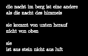 Nachtkarst Gedicht 1