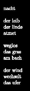 Nachtkarst Gedicht 14